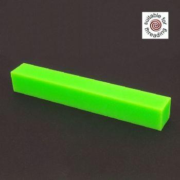 Semplicita SHDC Neon Green acrylic pen blanks